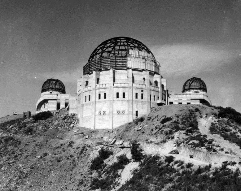 1934 Griffith Park Observatory Being Built In Los Angeles California Griffith Park Griffith Observatory Los Angeles History