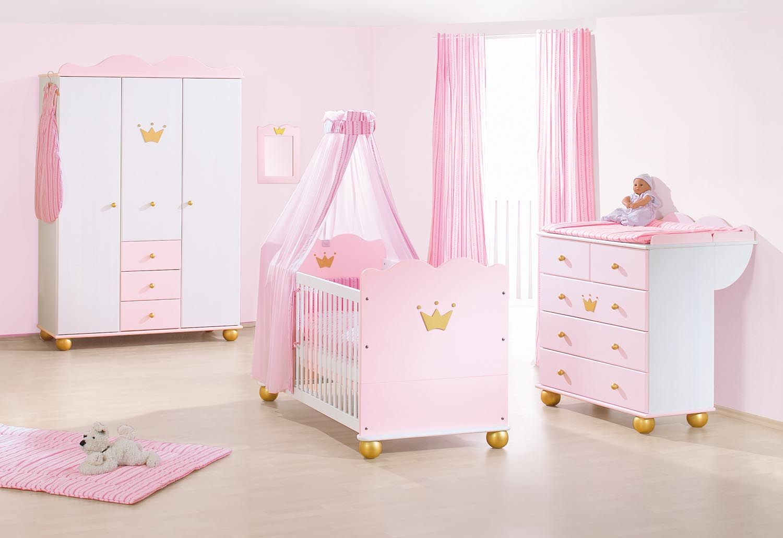 Kinderzimmer Prinzessin Karolin Massivholz von Pinolino in