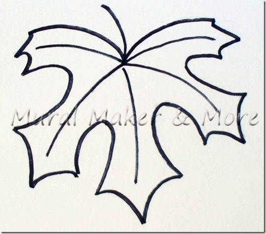 Maple Leaf Template Free Printable - Google Search | Tooling