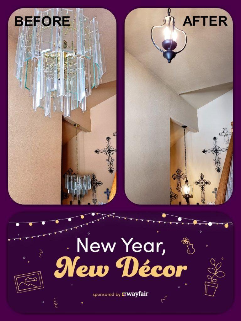 New Year, New Décor - It's Time! (Spon. by Wayfair) #TigerStrypesBlog