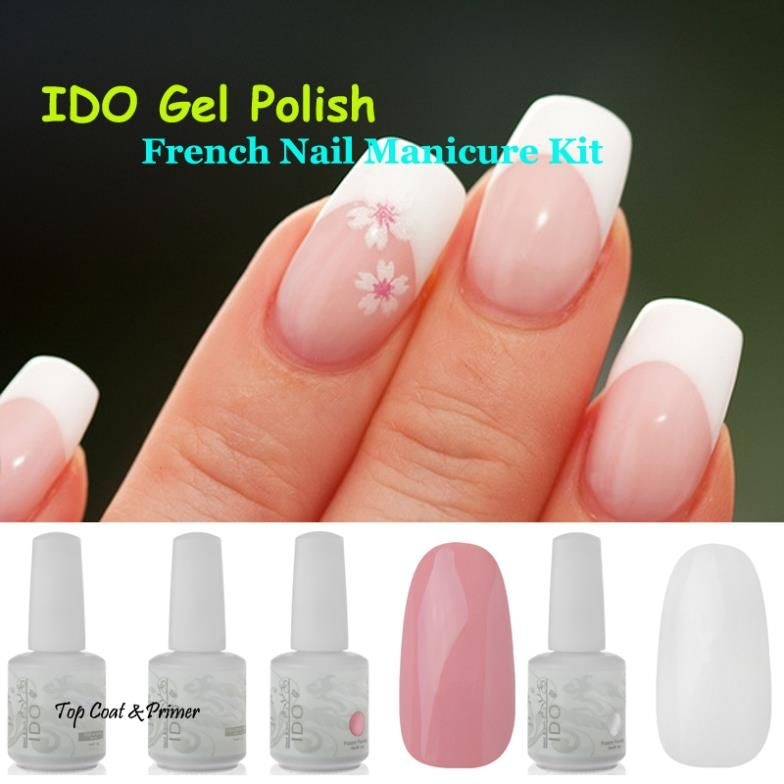 French Manicure Nail Art Kit – Papillon Day Spa