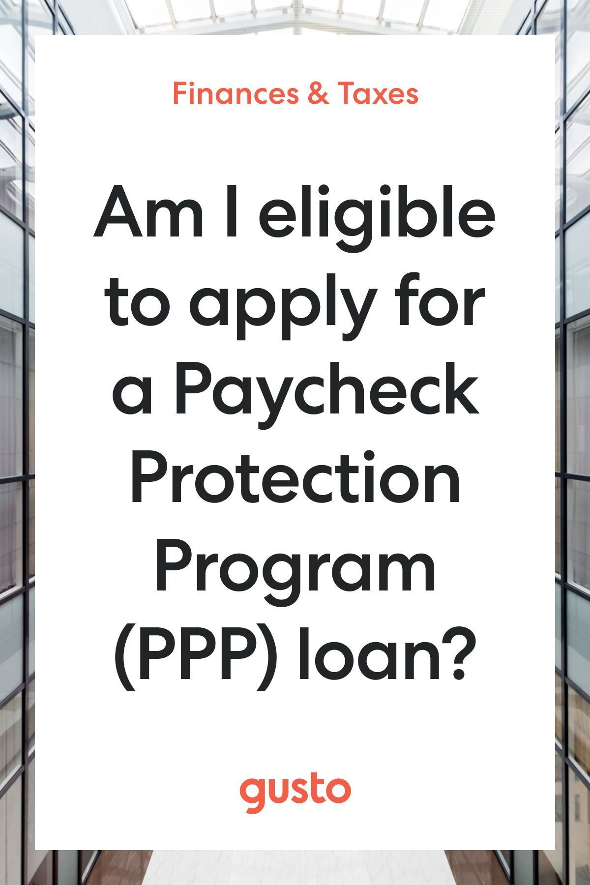 A Simple Guide to Applying for the Paycheck Protection