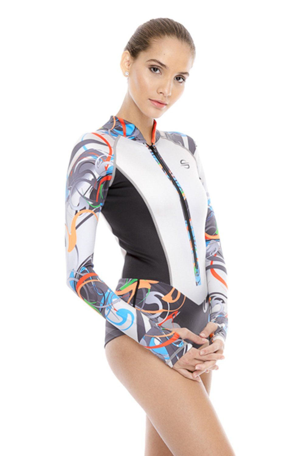 Canoeing - Platinum Sun Lycra Shorty Suit Scuba Dive Skin Women Delphin S  -- Want extra info  Click the image. (This is an affiliate link).  CanoeTrip 0af078480