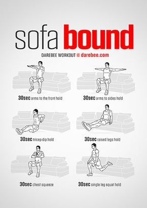 visual workouts  couch workout gym workouts workout for
