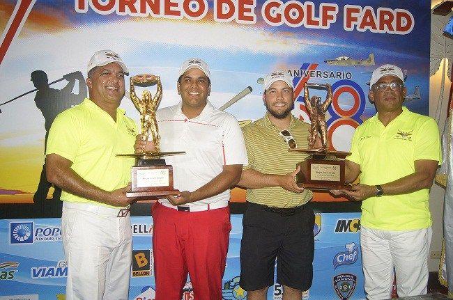 """Guarionex Muñoz y Rogelio Genao ganan """"V Torneo de Golf Benéfico del CEOFARD"""""""