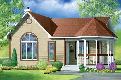 Ranch House Plan 5633