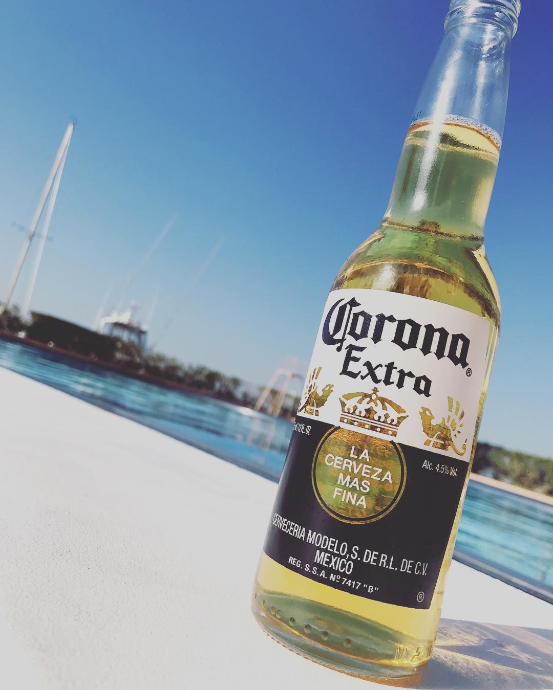 Mexico Corona Extra Lime Beer Cerveza Beach Vinyl Wall Decal Decor Sticker Quote