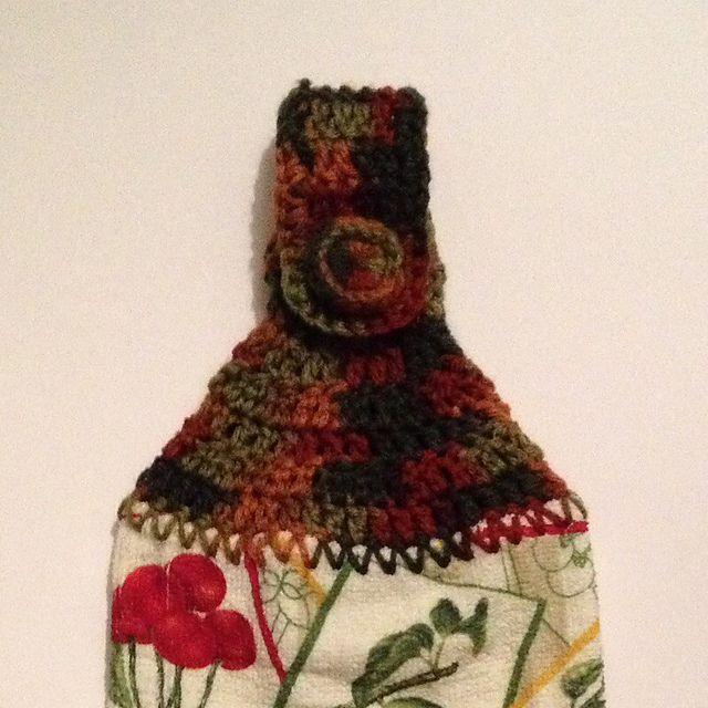 Ravelry Easy Crochet Dish Towel Topper Pattern By Dawn Lawson