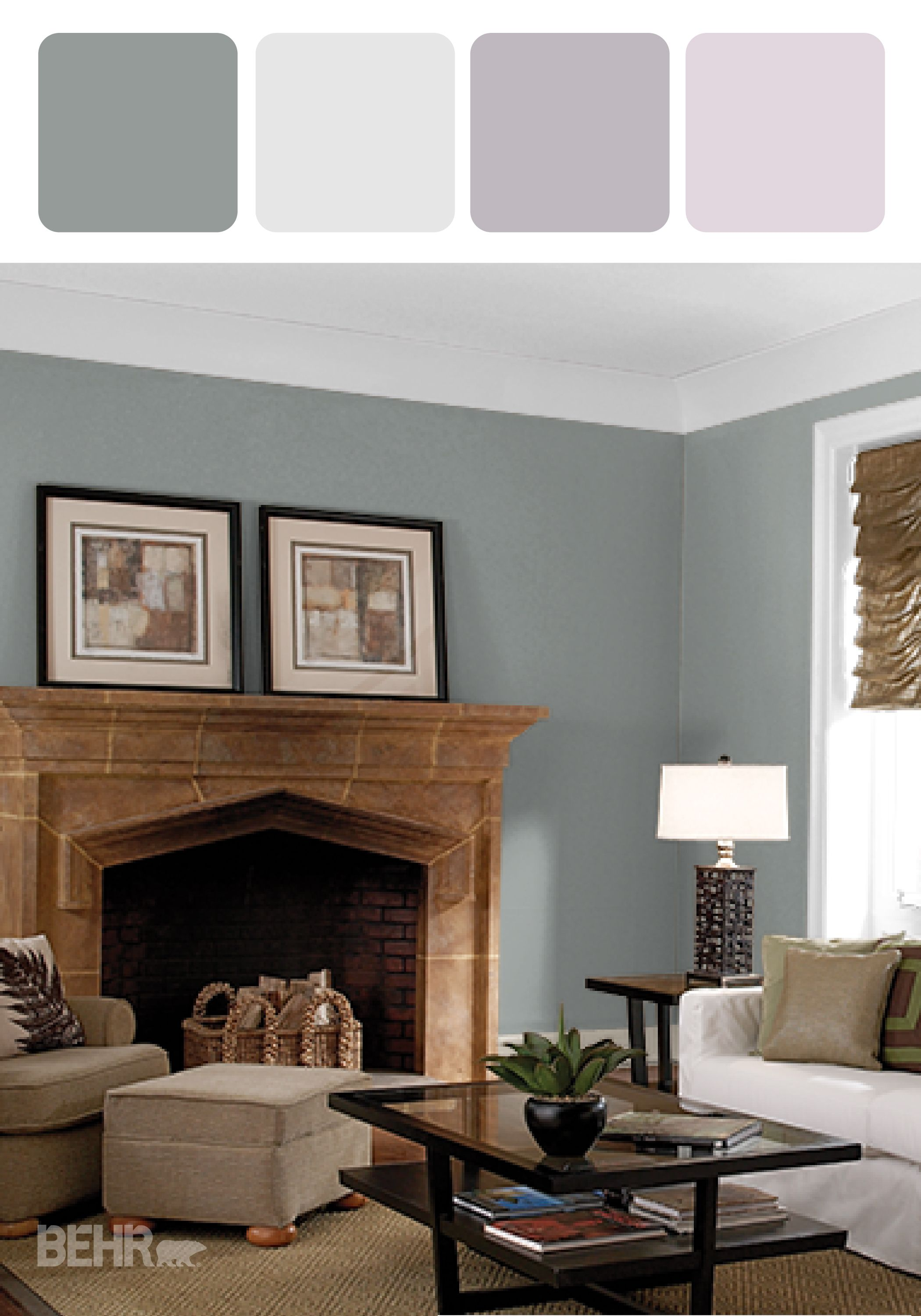 Add A Sense Of Cozy Luxury In Your Home With This Design Inspiration That Features BEHR