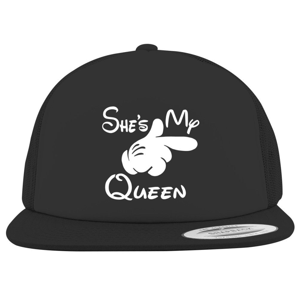 She's My Queen Foam Trucker Hat