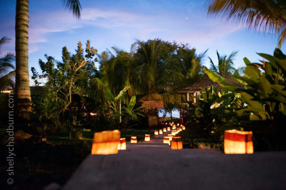 Follow the path to a romantic getaway