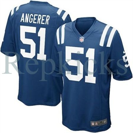 Nike NFL Indianapolis Colts Pat Angerer Men's Replica Jersey