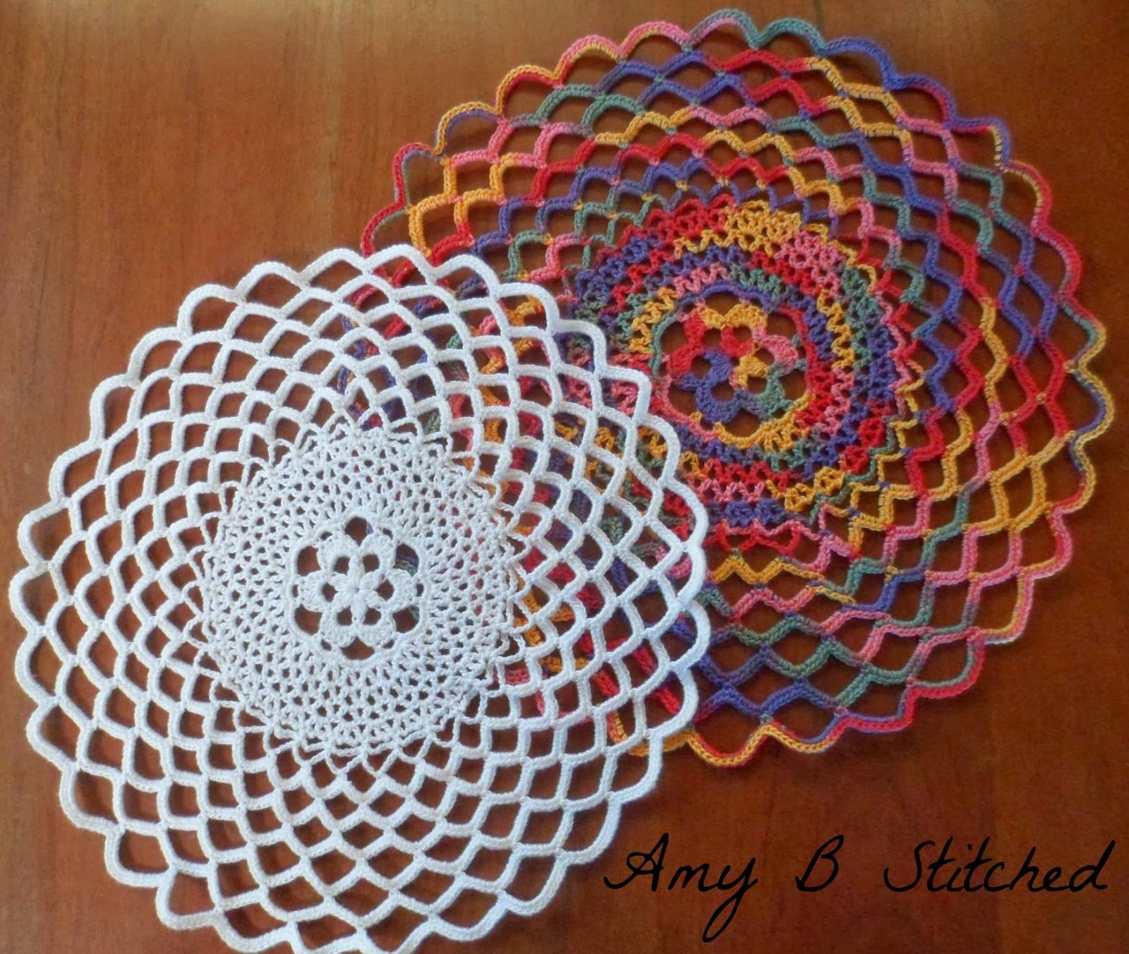 Swirling Doily