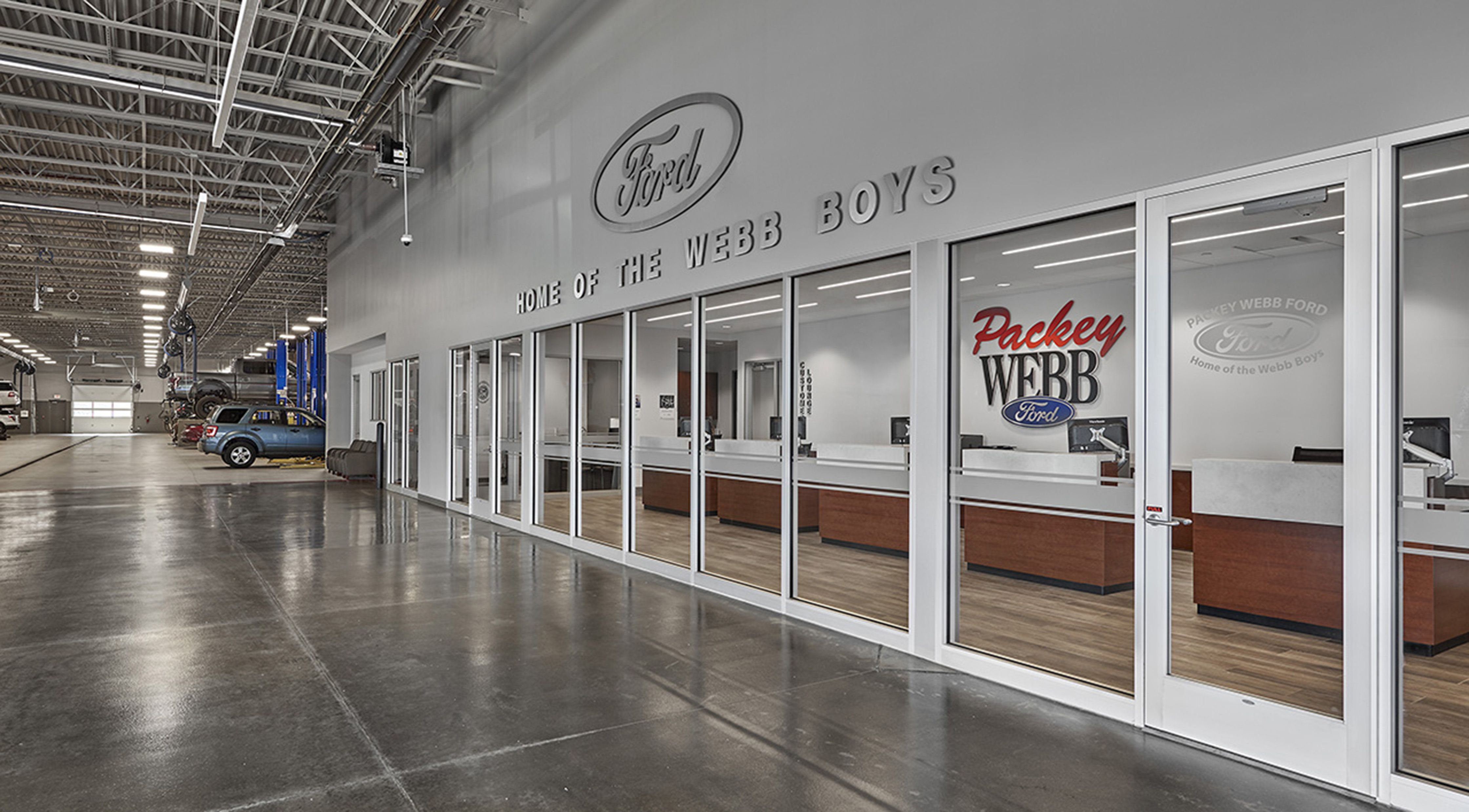 Packey Webb Ford Dealership By Charles Vincent George Architects