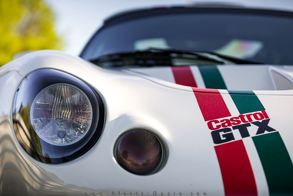 Lotus exige S1 old school - old english white by le mans sport ...