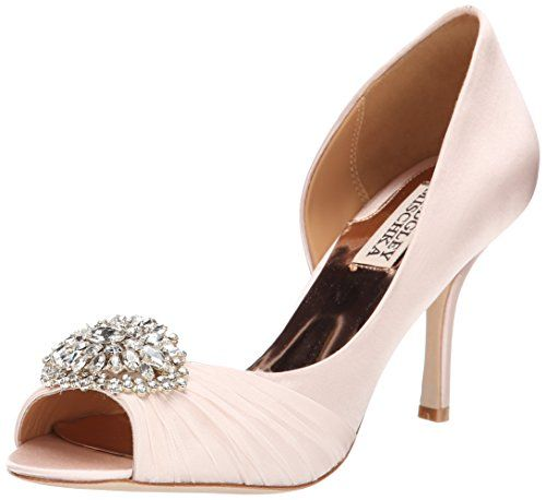 Badgley Mischka Women s Pearson D Orsay Pump, Light Pink, 6.5 M US ... aa19bffee9