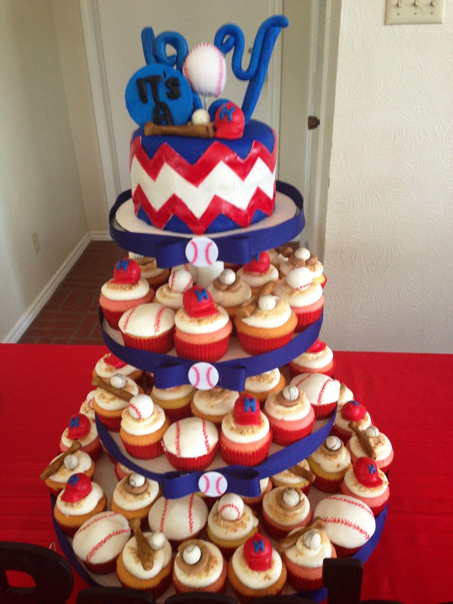 Baseball boy baby shower Party Ideas Pinterest