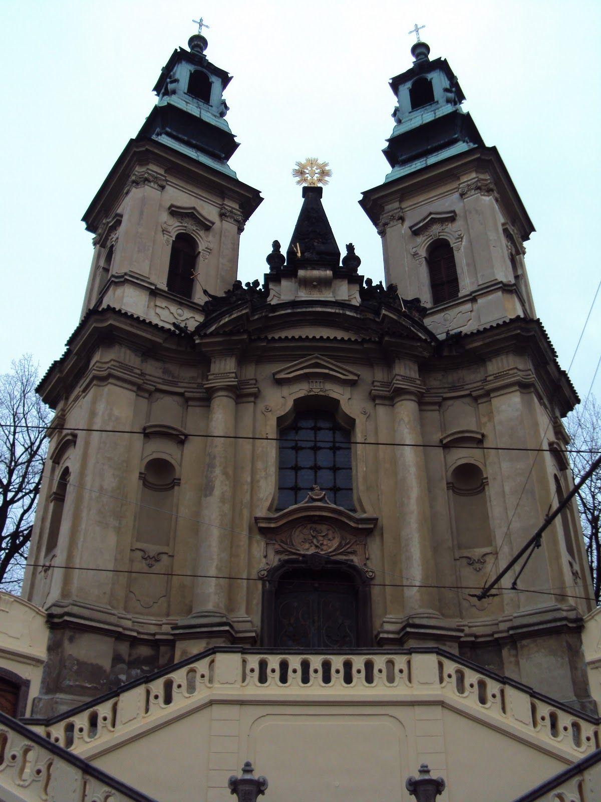 Česko, Praha - Kostel sv.Jana Nepomuckého na Skalce