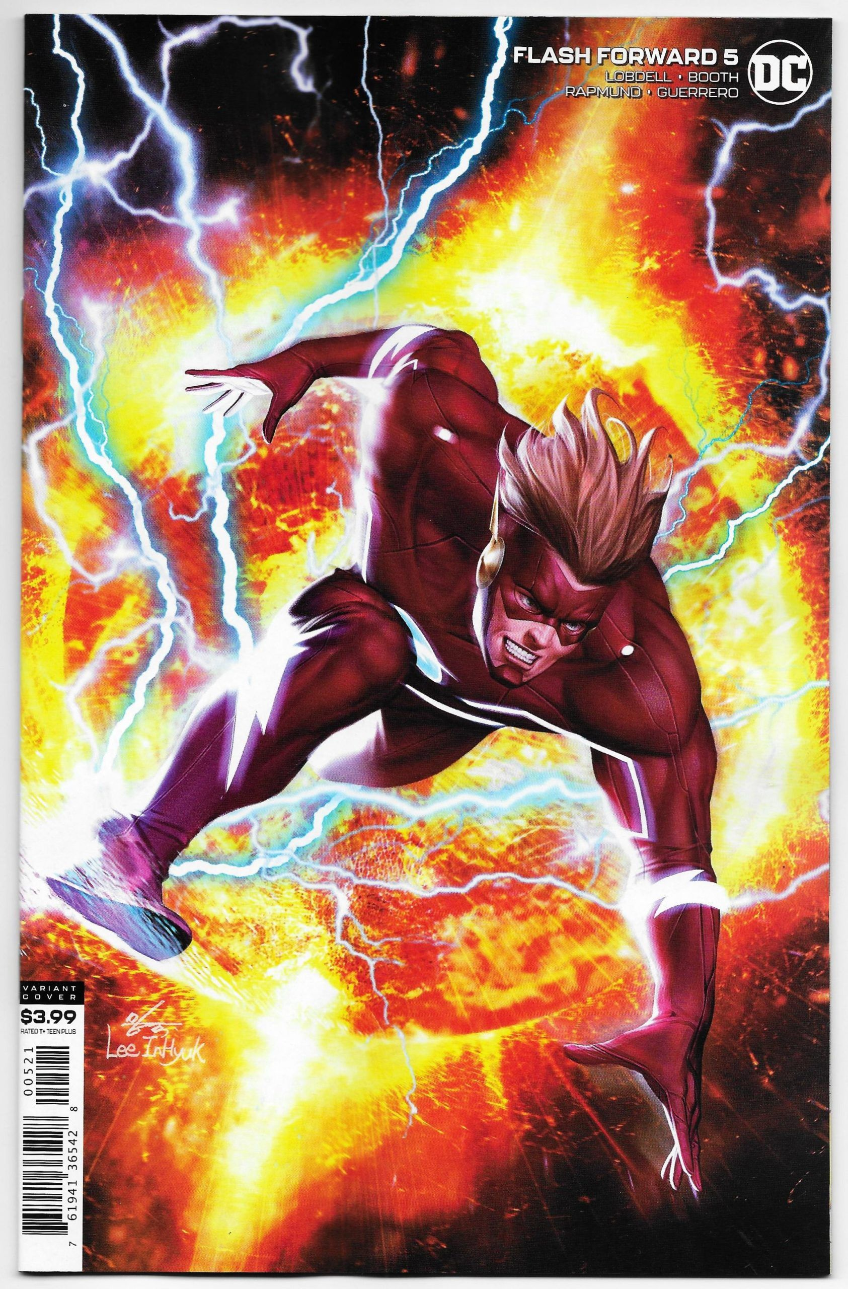 FLASH #51 MATTINA VARIANT COVER DC COMIC BOOK FLASH WAR NEW 1 2018