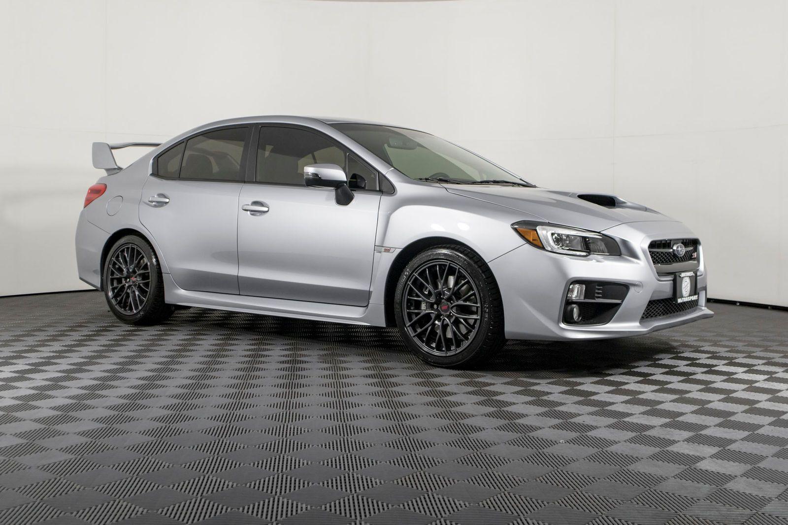 Used 2017 Subaru Wrx Sti Awd Sedan For Sale Northwest Motorsport 35k Subaru Wrx Sti Subaru Wrx Subaru