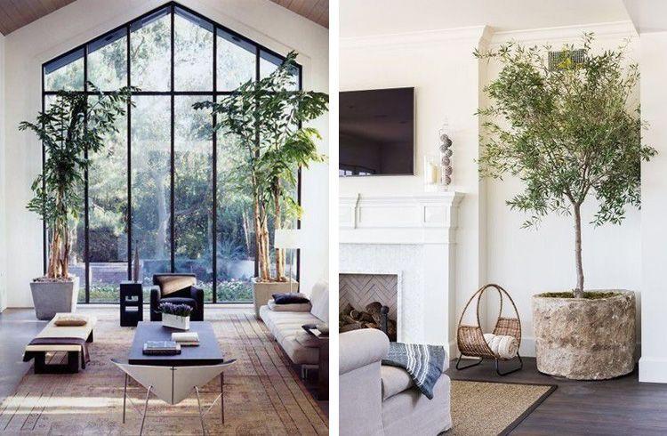 Planten In Woonkamer : Warme woonkamer met planten inspiratie