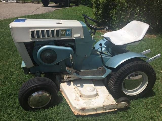 1971 Sears Ss14 Garden Tractor Used Weekly Never Had A