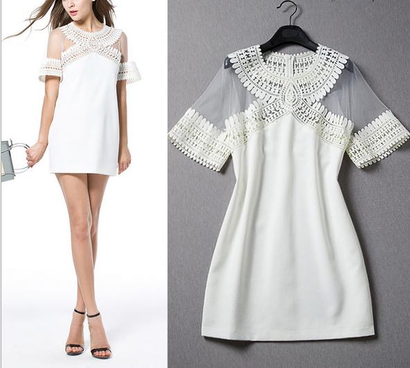 simple casual mini dress