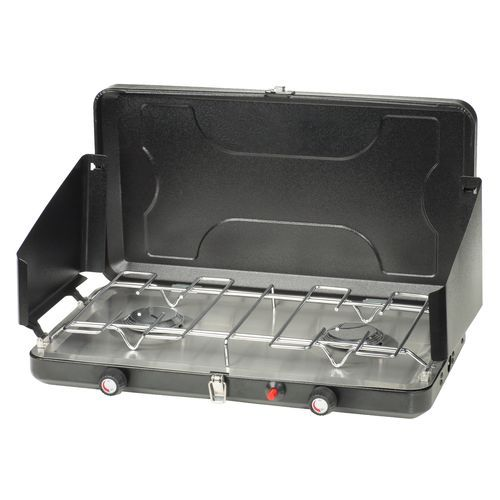 Timber Creek Double Burner Propane Stove With Drip Tray Propane Stove Double Burner Camping Stove