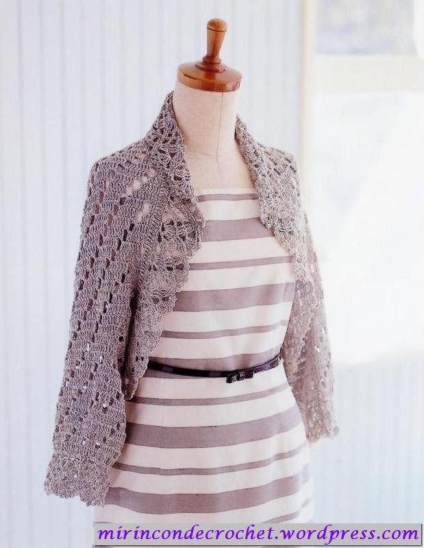 marzo | 2012 | Mi Rincon de Crochet | boleros croche | Pinterest