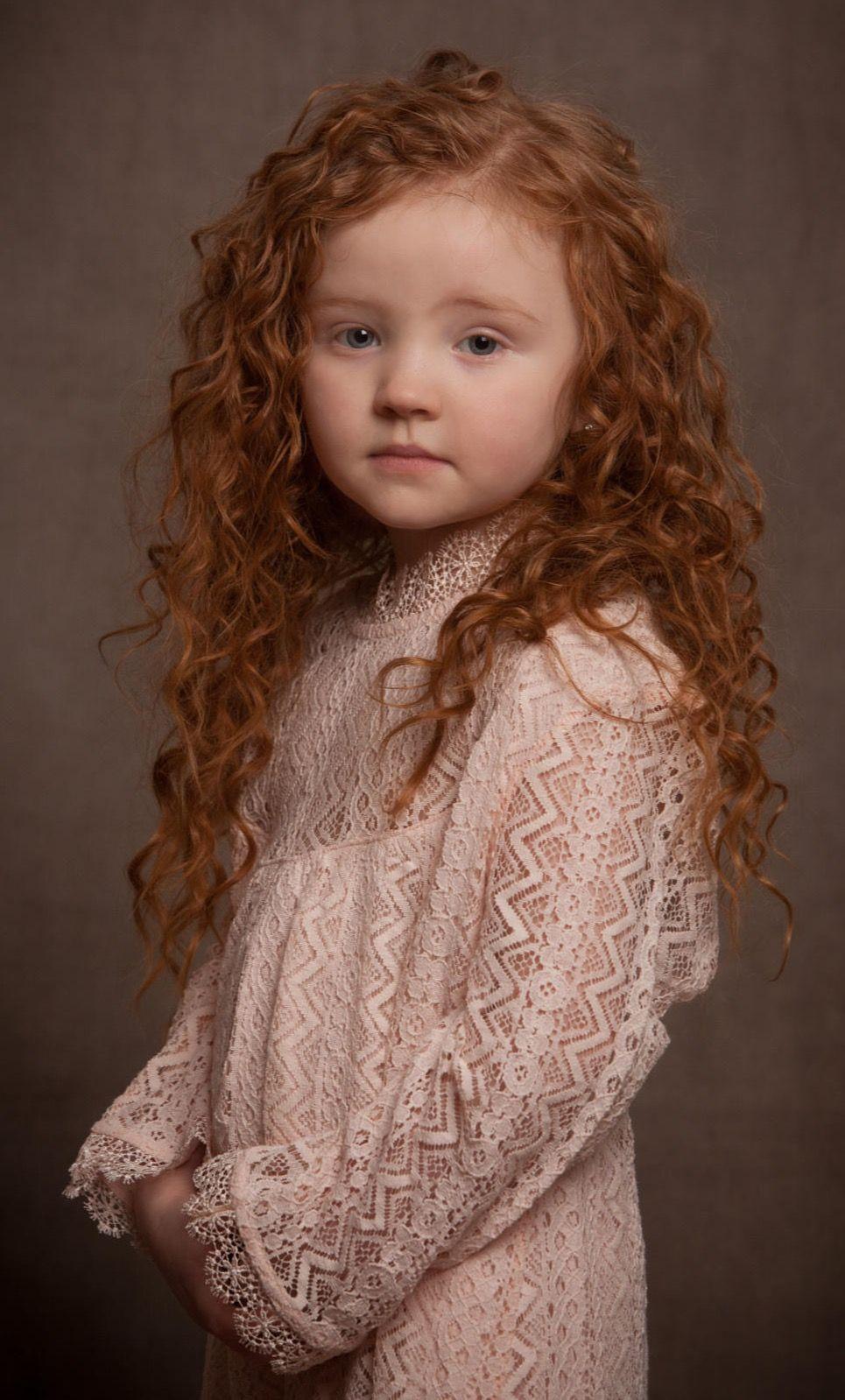Tiny girls redhead