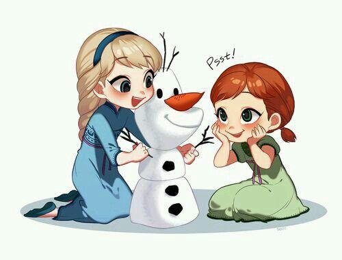 Elsa And Ana Dibujos De Frozen Imagenes Animadas Princesas Disney