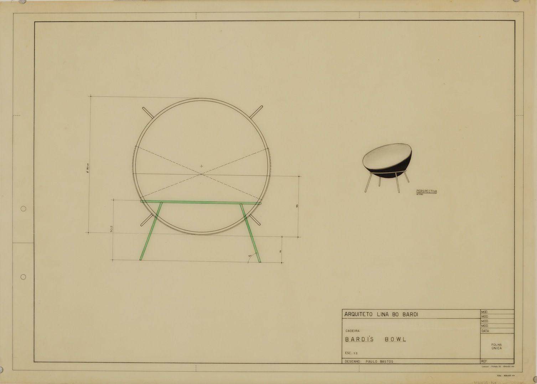 Bardi S Bowl Chair Sketch 01 Design Pinterest La Solucion  # Colombiana De Muebles Wl