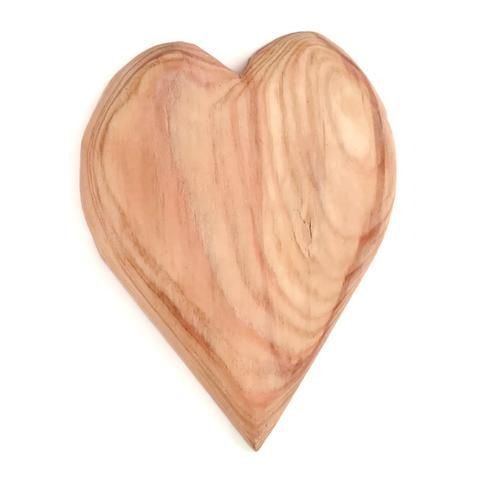 Hand Carved Wooden Heart Small Wooden Hearts