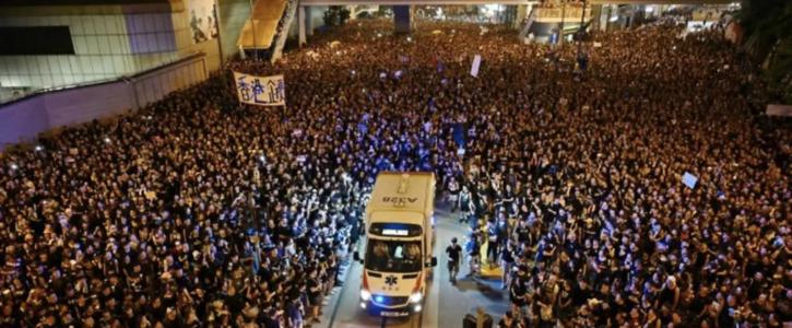 Stand up for Human Rights in Hong Kong Hong kong people