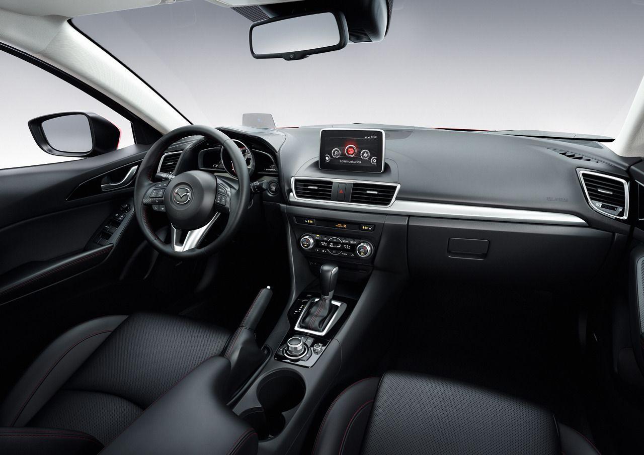 Top 5 Car Interiors of 2014 Mazda 3 hatchback, Mazda
