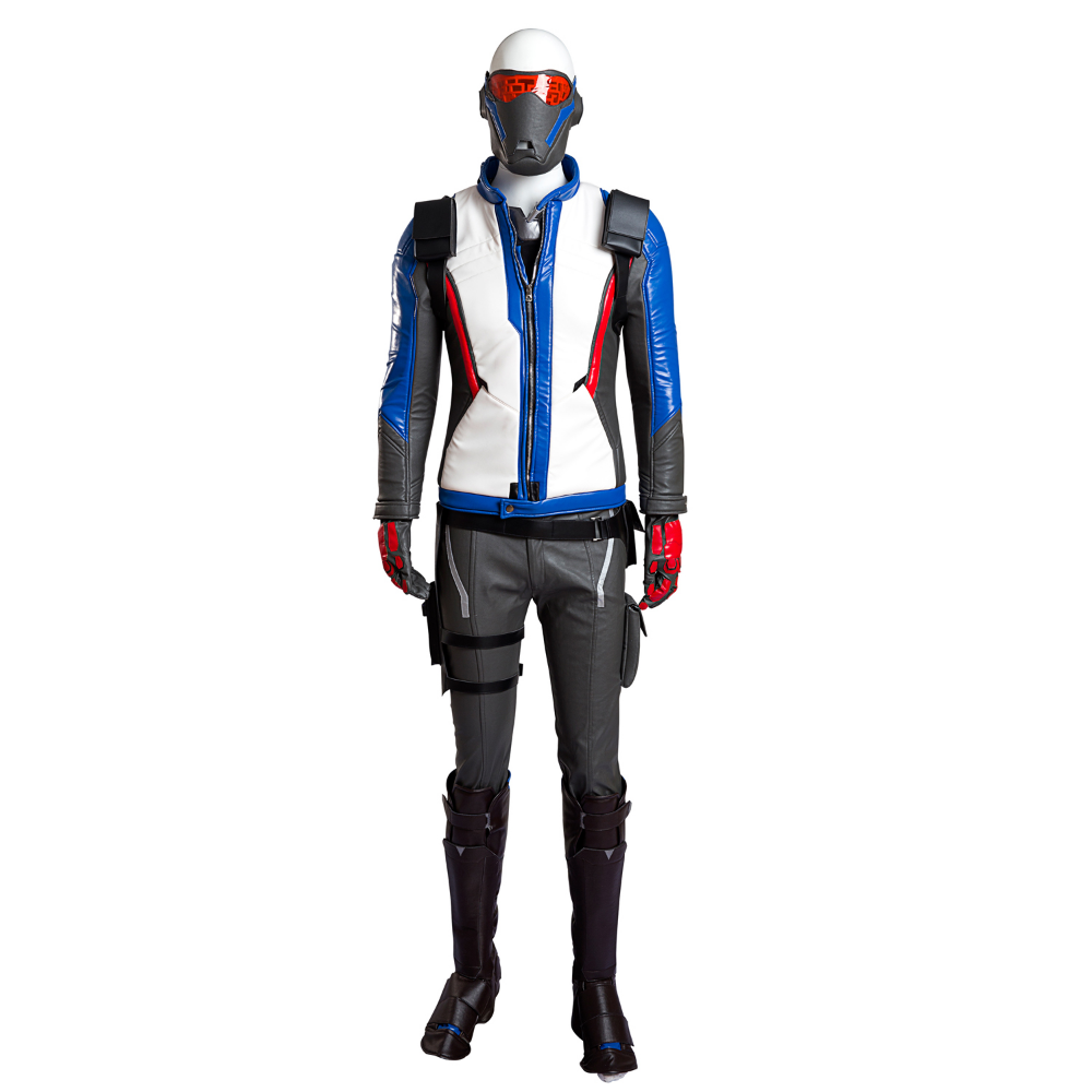 Quality Overwatch Soldiers 76 Halloween Cosplay Costume
