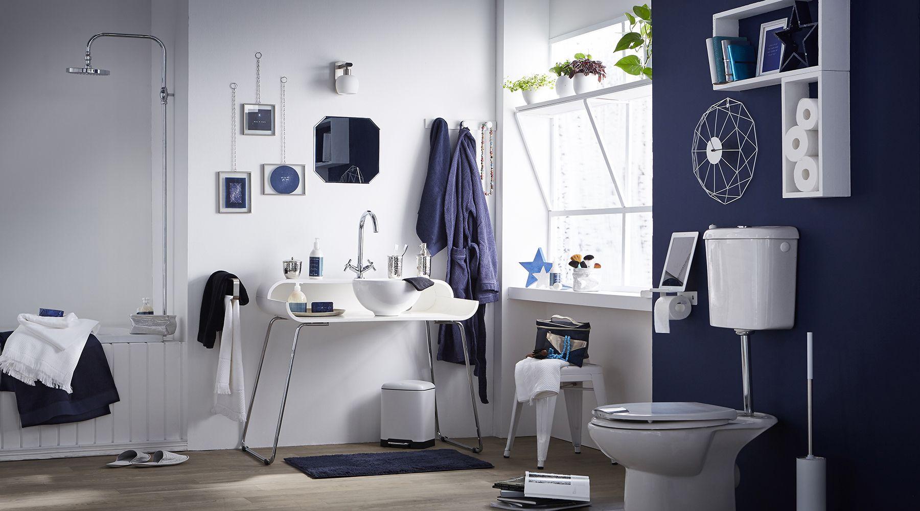 Id es d co salle de bain d clic sid ral job pinterest for Idee de job