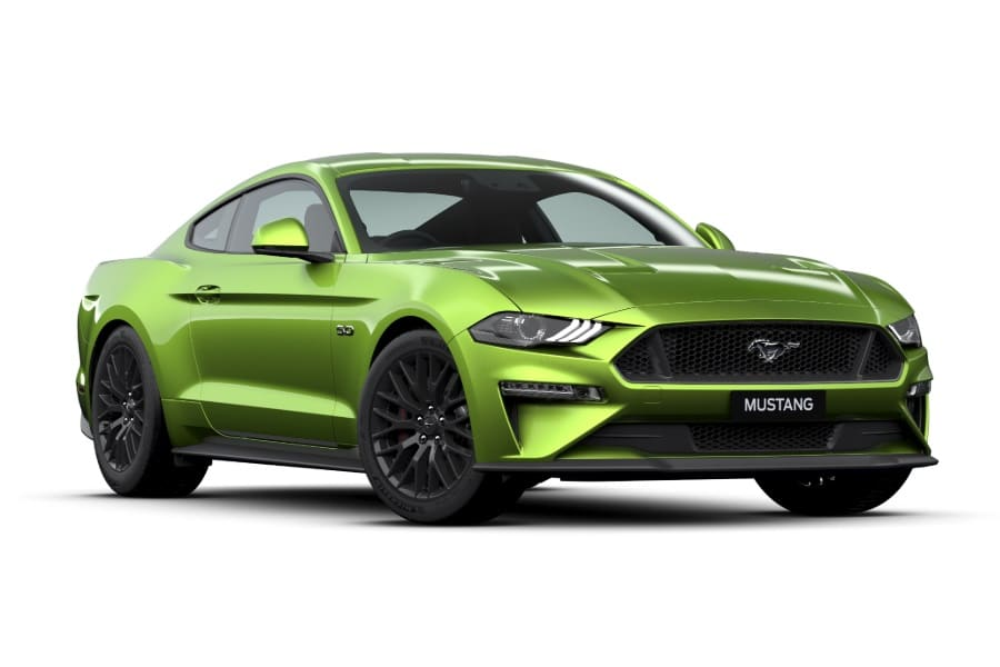2020 Ford Mustang Gt Adds A Lime Green On Steroids Man Of Many Ford Mustang Gt Mustang Gt Ford Mustang