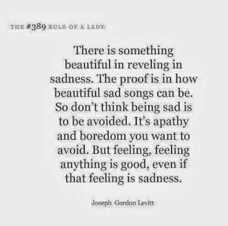 Consuming sadness. tracyswisdomtree.blogspot.com
