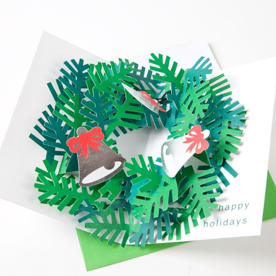 MoMA Sabuda Wreath Pop-Up Cards | pop up card for all reasons ...