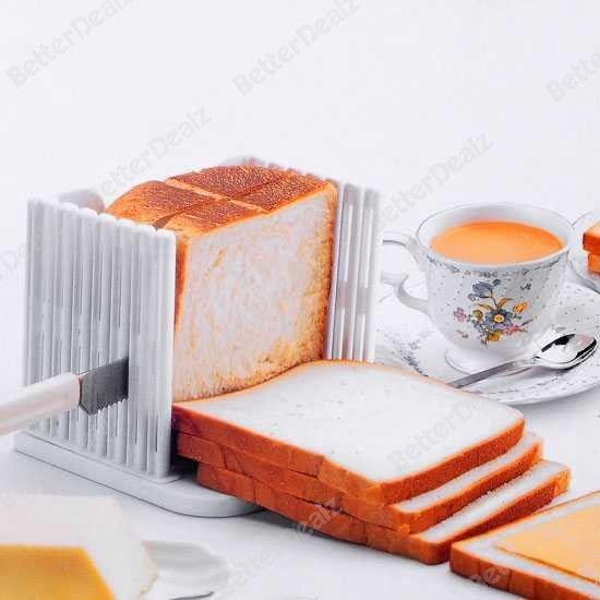 Kitchen Pro Bread Loaf Slicer Slicing Cutter Even Slices Guide Tool Herramientas De Cocina Utensilios De Cocina Cortadores