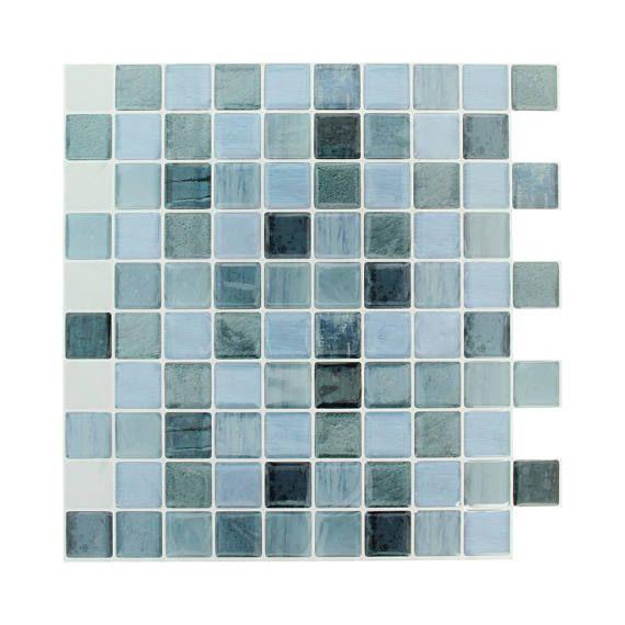 Mosaique Autocollant 25 X 25 Cm Stickers Mosaique Carrelage Adhesif Carrelage Autocollant Et Frise Carrelage