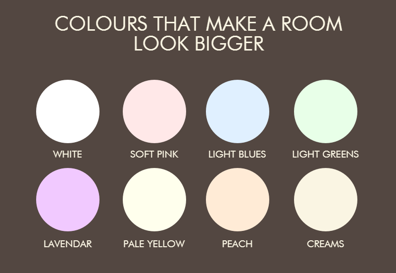 What Paint Colors Make A Room Look Bigger what paint colors make a room look bigger - home design