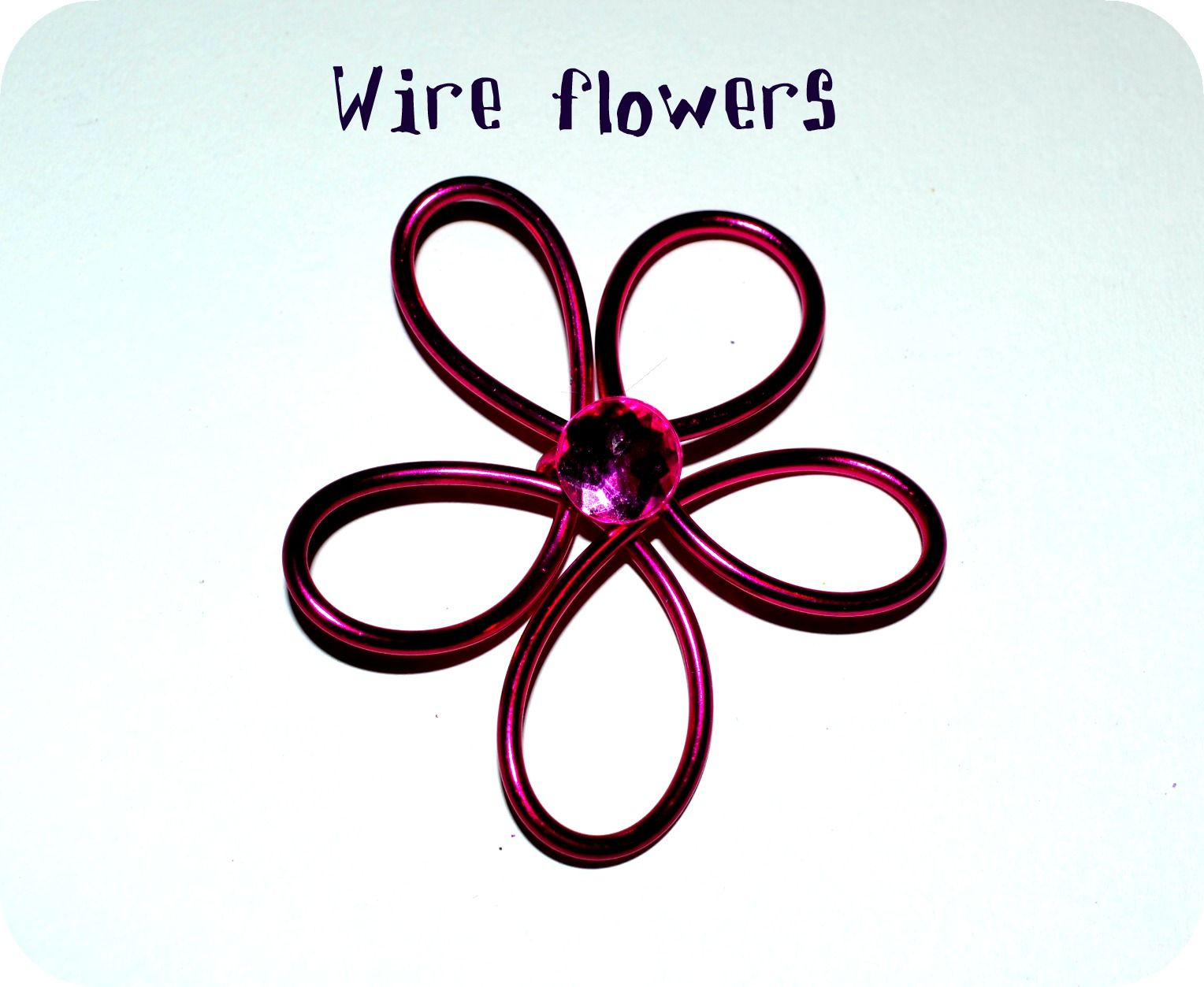 How to Make Wire Flowers for Crafting