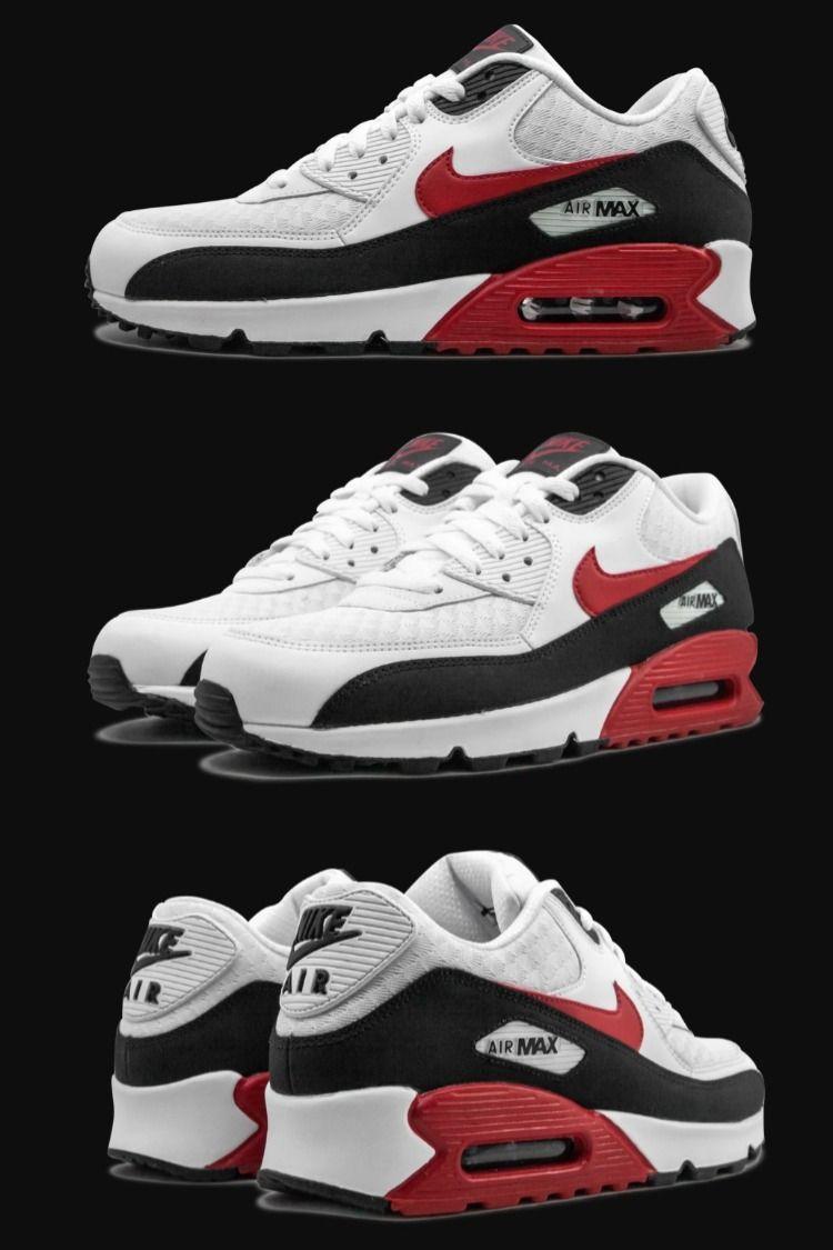 Nike Air Max 90 White/University Red