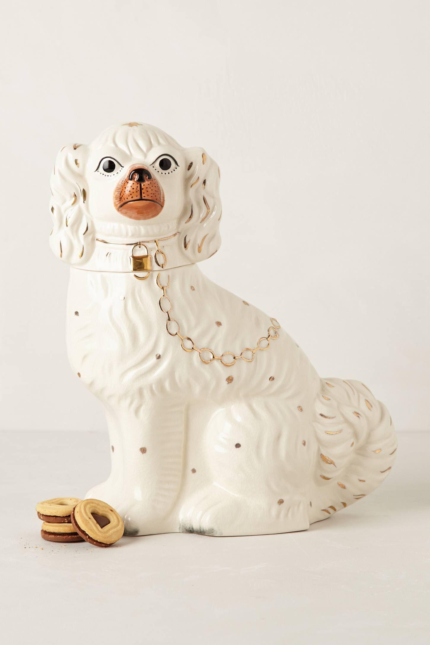 Pedigreed Cookie Jar Anthropologie Com Staffordshire Dog