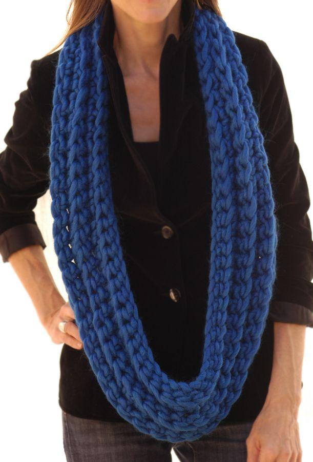 The Crocheted Canadian Knit 1 La Cowl Crochet Easy Pattern