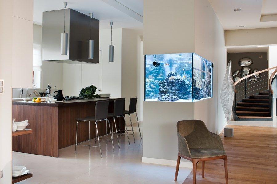 Wyspa Kuchenna Akwarium Szukaj W Google Interior Design Interior Modern Kitchen Design