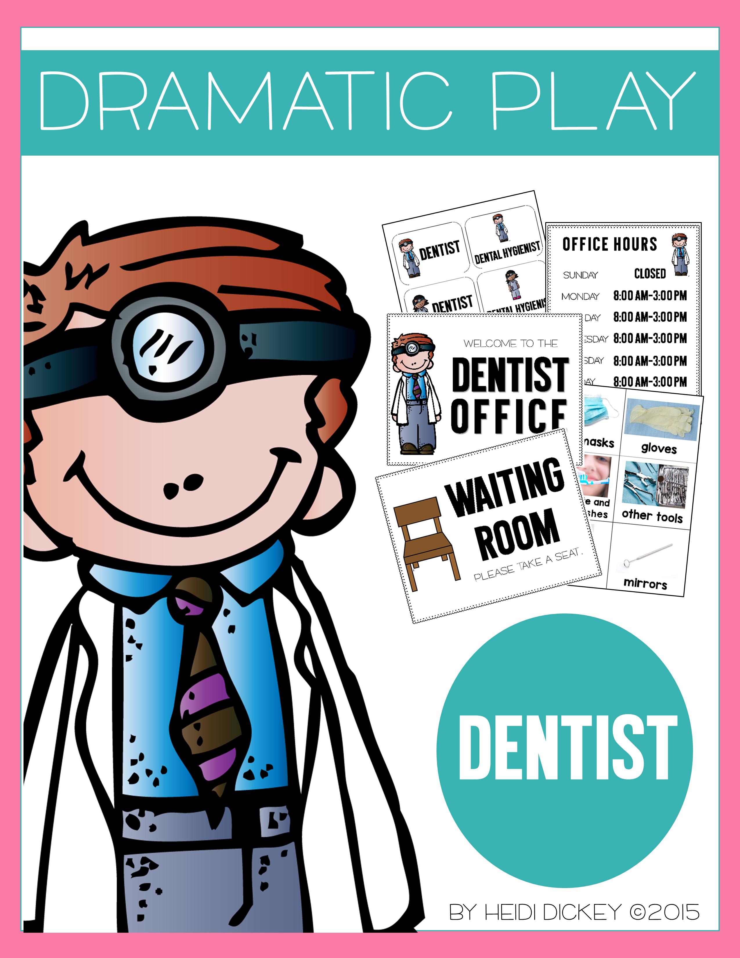 Dentist Dramatic Play