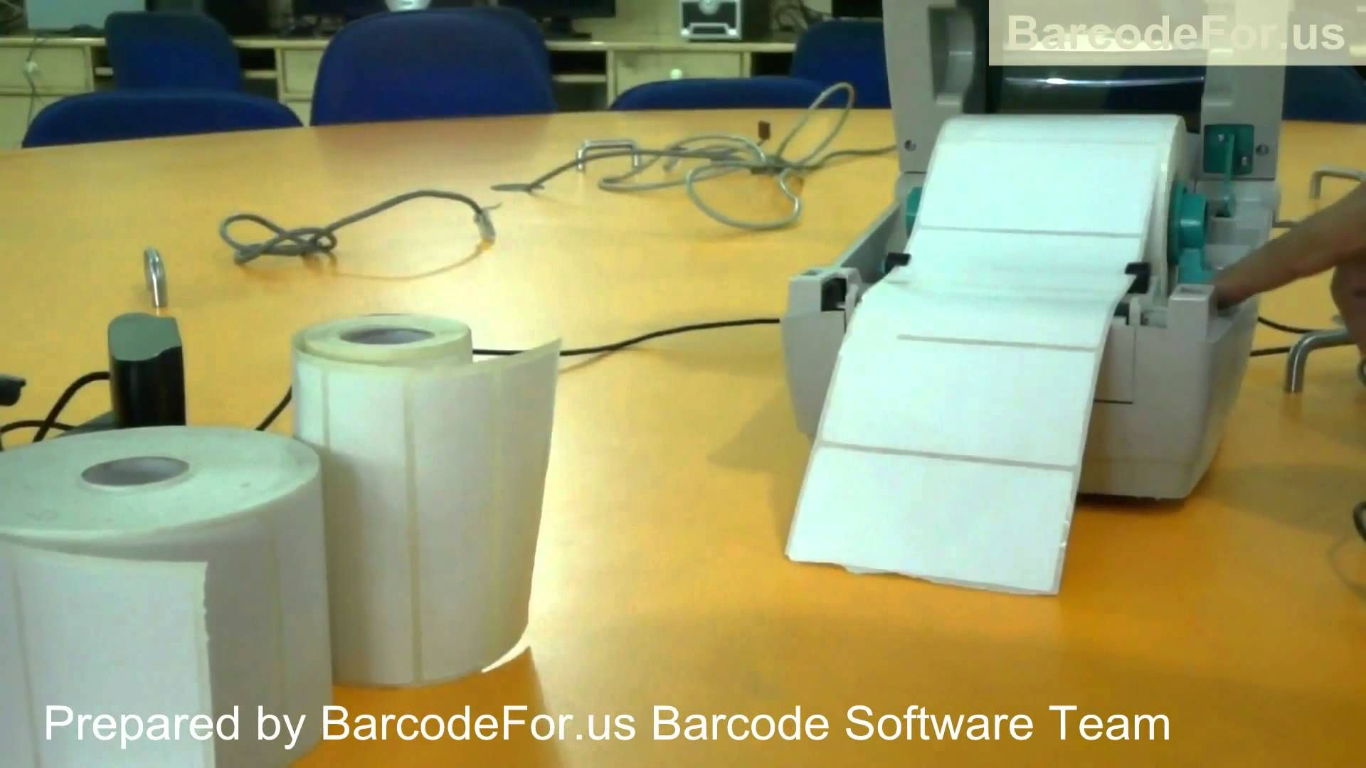 How to change paper rolls in Zebra Thermal Printer:Learn how to